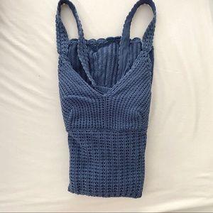 Athleta Crochet dress